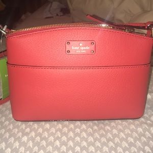 BRAND NEW WITH TAGS! Red Kate Spade crossbody